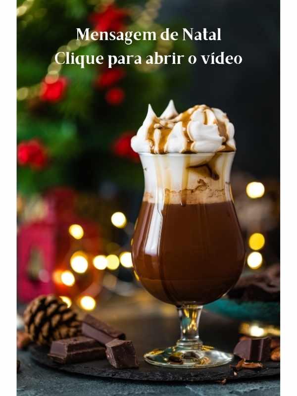 Feliz Natal - Mensagem de Natal em video