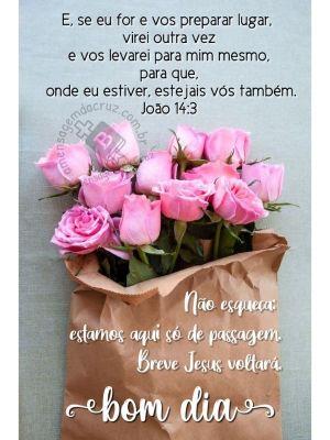 Maranata - Breve Jesus Voltará - Mensagem de Bom Dia