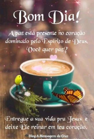 Bom Dia com Jesus - Mensagem Bíblica de Bom Dia