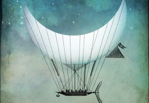 barco-com-vela-de-lua