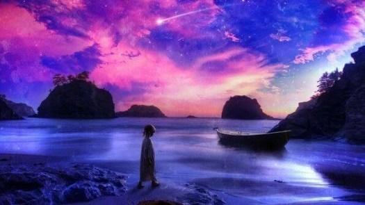 A inspiradora lenda do menino e a estrela do mar