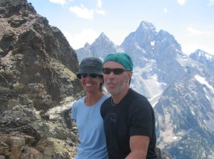 Tetons- Bob and Jo