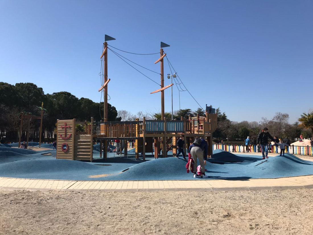 Parque Finca Liana en Móstoles