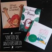 Sorteo de aniversario. Tres cuentos para celebrar nuestro primer año