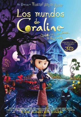 Coraline películas familiares
