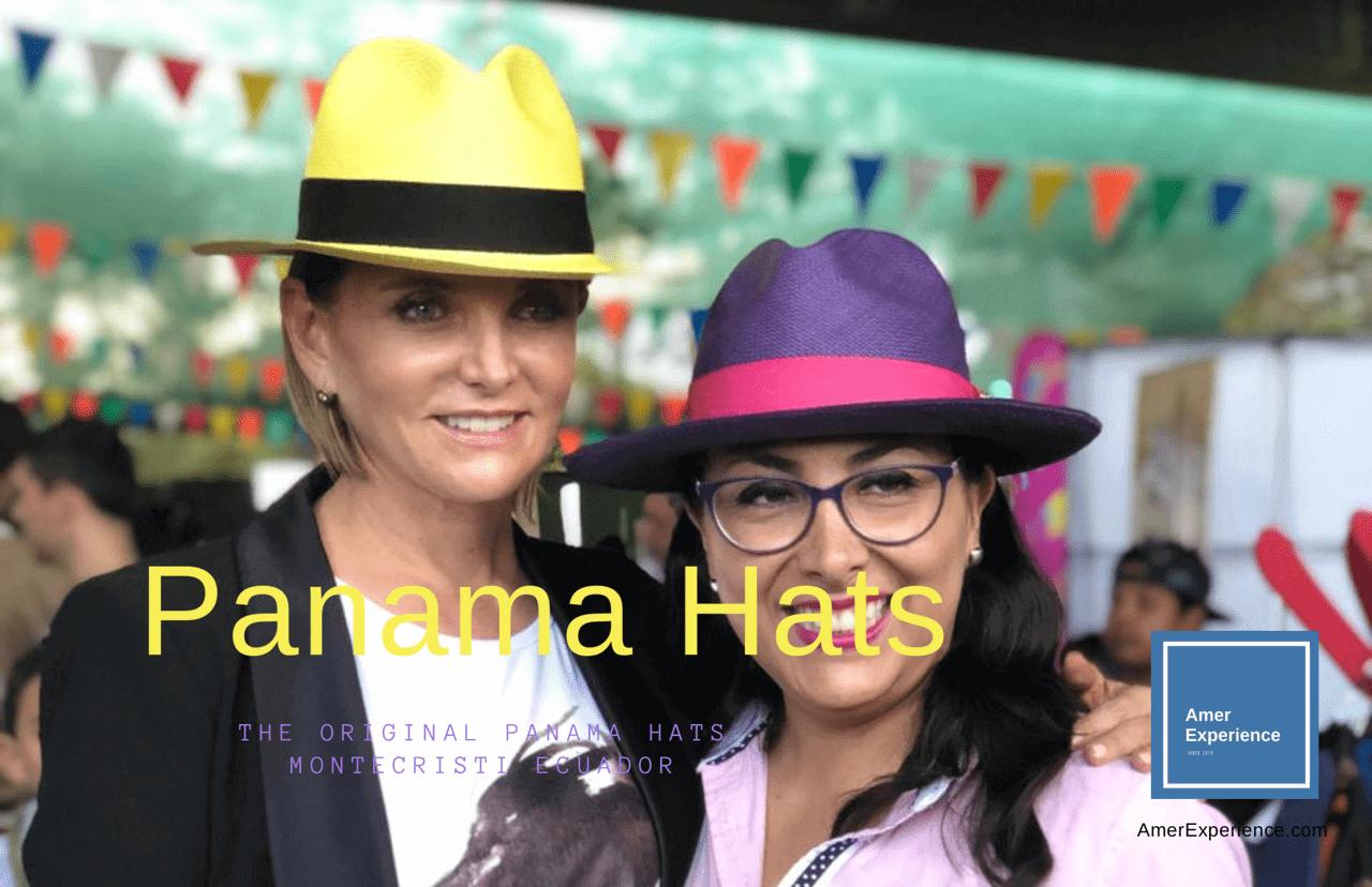 Original Montecristi Ecuador Panama Hat