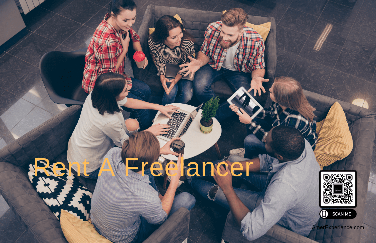 , Rent a Freelancer to Boost Your Business, AMER EXPERIENCE