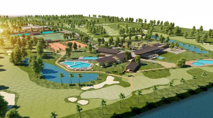 Guayaquil Country Club Samborondon Ecuador layout