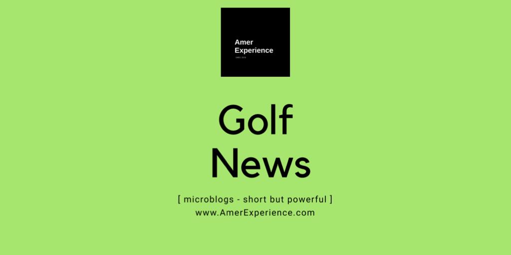 Amer Experience News Golf Blog