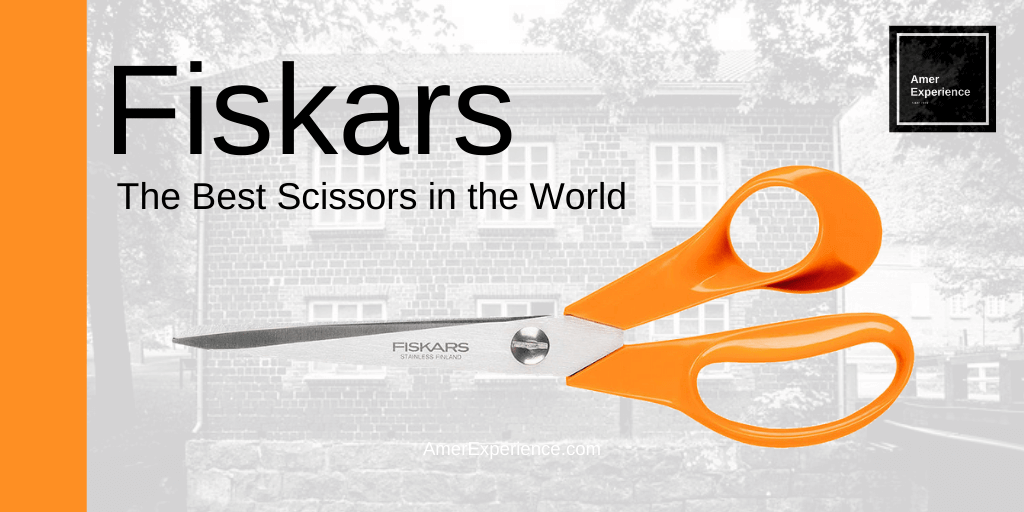 FISKARS SCISSORS FINLAND 🇫🇮 - Sold over a billion units worldwide Buy Now 👉🏻 The best scissors you can buy. You feel it! #fiskars #scissors #finland #online #shop #orange #ergonomic #affiliatelink