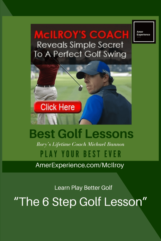 Michael Bannon Rory Mcillroys swing coach 6-step golf lessons