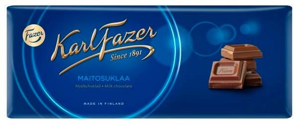 Karl Fazer Finland Milk Chocolate USA