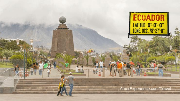 Middle earth monument Quito Ecuador