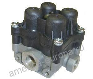 4-х контурный защитный клапан 6.9/4.5 bar, M16х1.5 \MAN TG-A