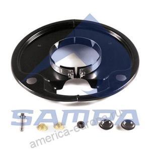 Комплект щитков пылезащитных на колесо SNK 300×200 SAF SKRS 9030