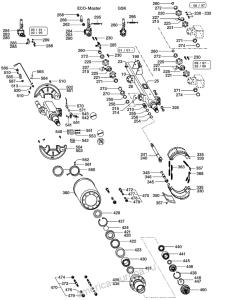 Ось BPW прицепа NHZF 9010-15 ECO MAXX