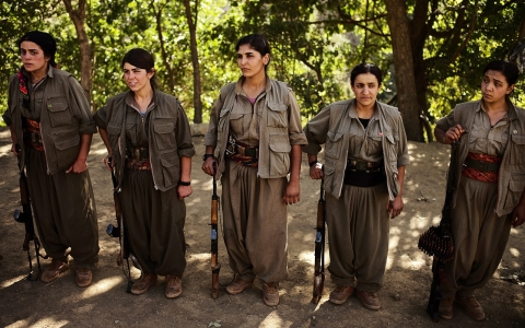 Thumbnail image for After repelling ISIL, PKK fighters are the new heroes of Kurdistan
