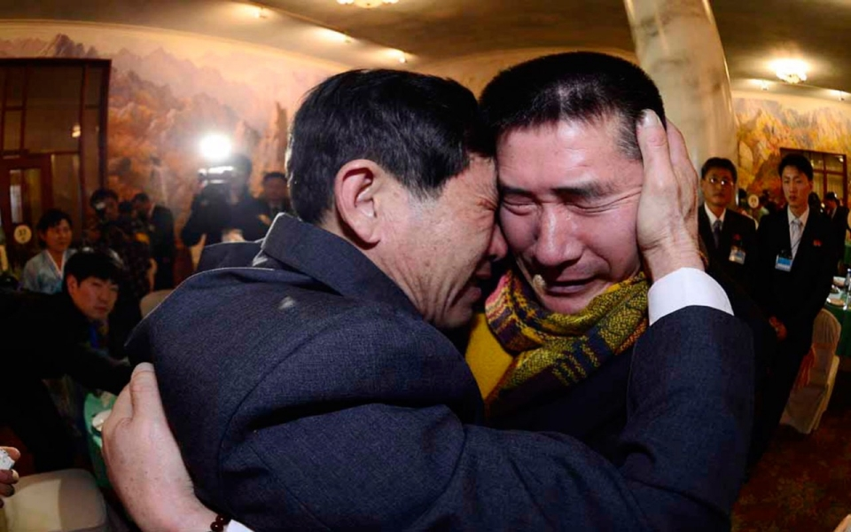 Image result for south koreans reunite