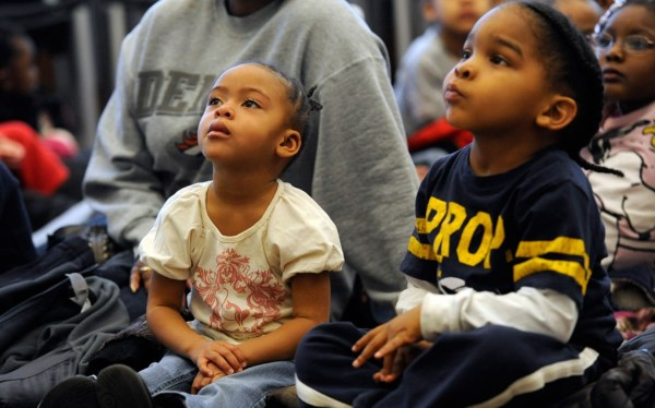 Black Latino Native American Children Lagging Report