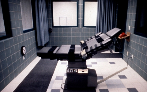Electric chair in Terre Haute, Indiana