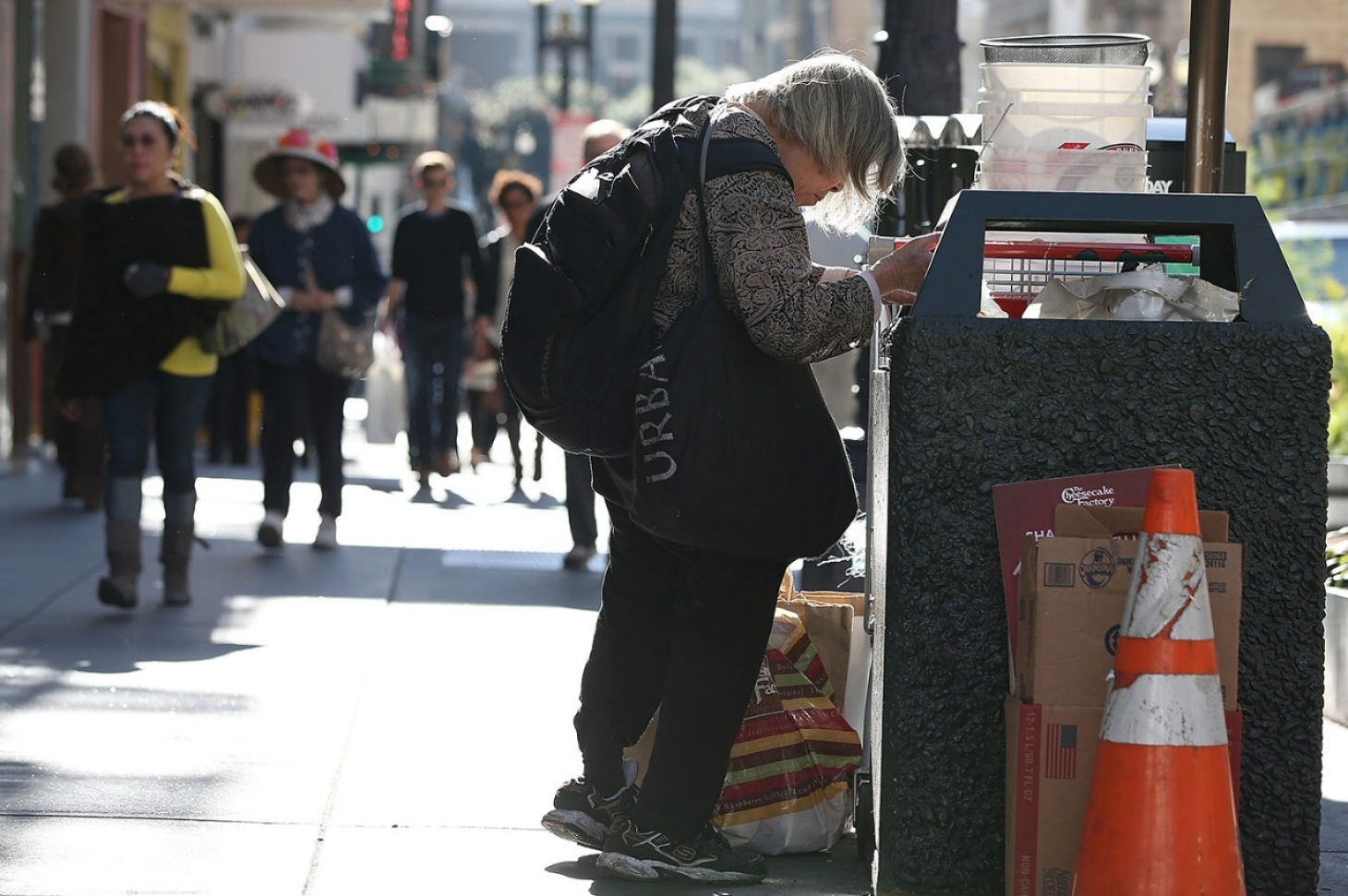 For San Franciscos homeless sanitation facilities on