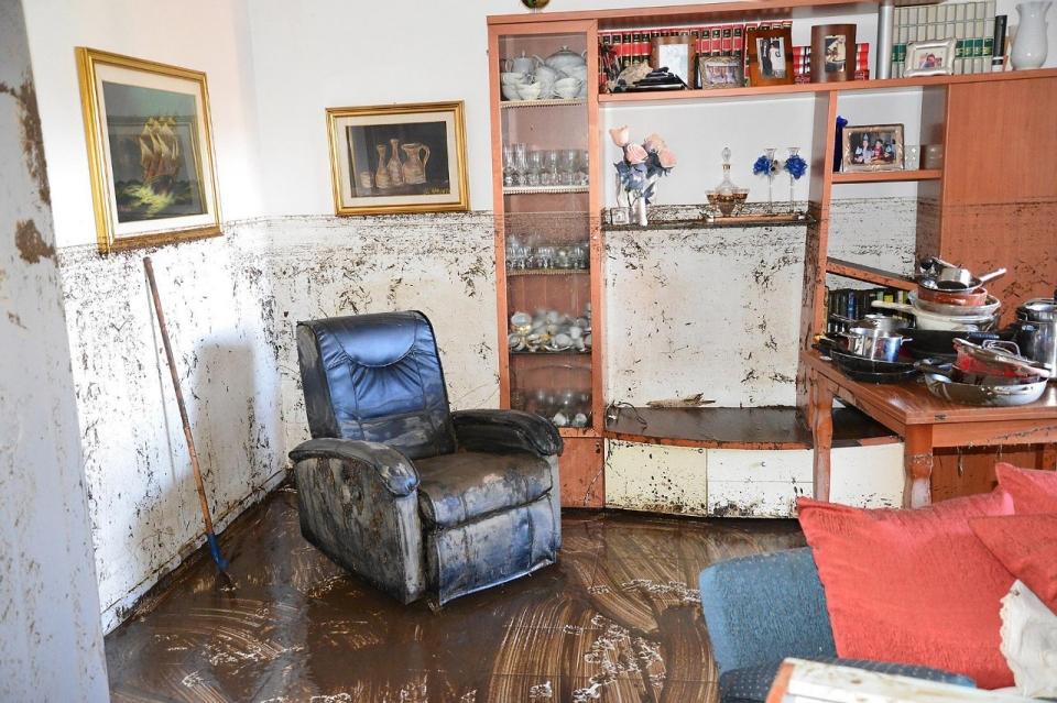 Photos Sicily ravaged by flooding  Al Jazeera America