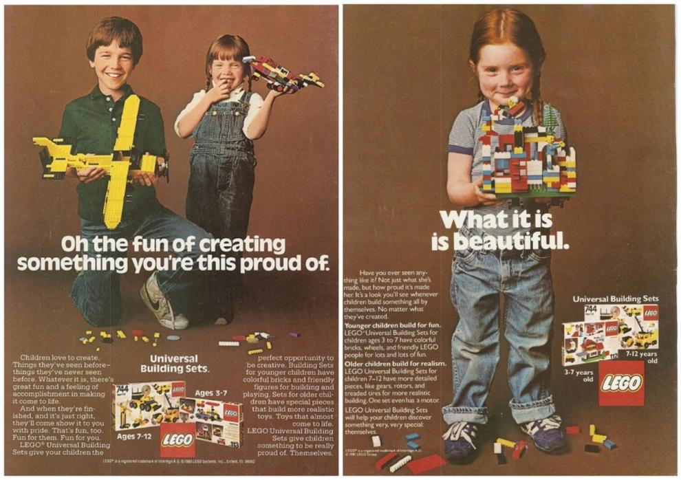 Lego 1980s