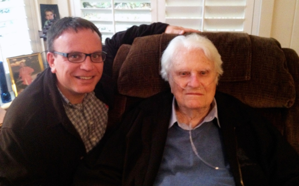 Boz Tchividjian and Billy Graham