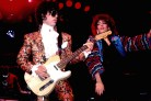 Prince performing with Sheila E.