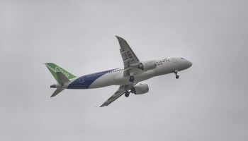 China-built aircraft C919 makes successful maiden flight