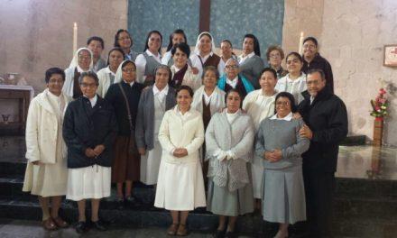 ENCUENTRO DE VIDA RELIGIOSA EN MORELIA, MÉXICO.