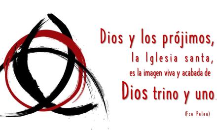 DONDE MIRA DIOS UNO Y TRINO