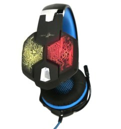 redgear hell scream professional gaming headphones with 7 rgb led colors and vibrations [ 1279 x 847 Pixel ]
