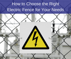 High Voltage Warning Sign on Electric Fence | America Fence