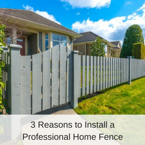 Grey Wooden Home Fence | America Fence