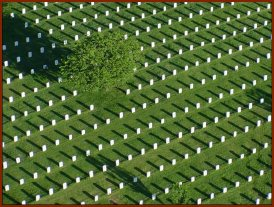 Aerial View — public domain photo courtesty of Arlington NationalCemetery