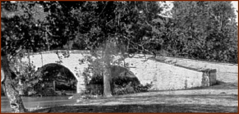 Burnside Bridge — public domain photo courtesy of Antietam on the Web