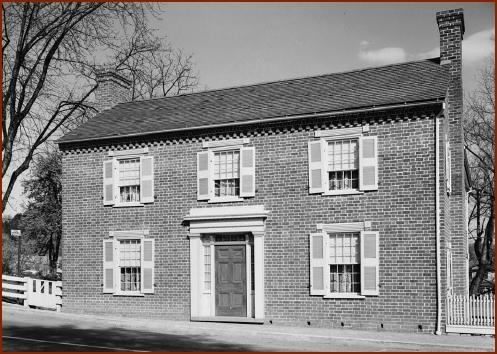 Johnson Home — public domain photo courtesy ofWikipedia