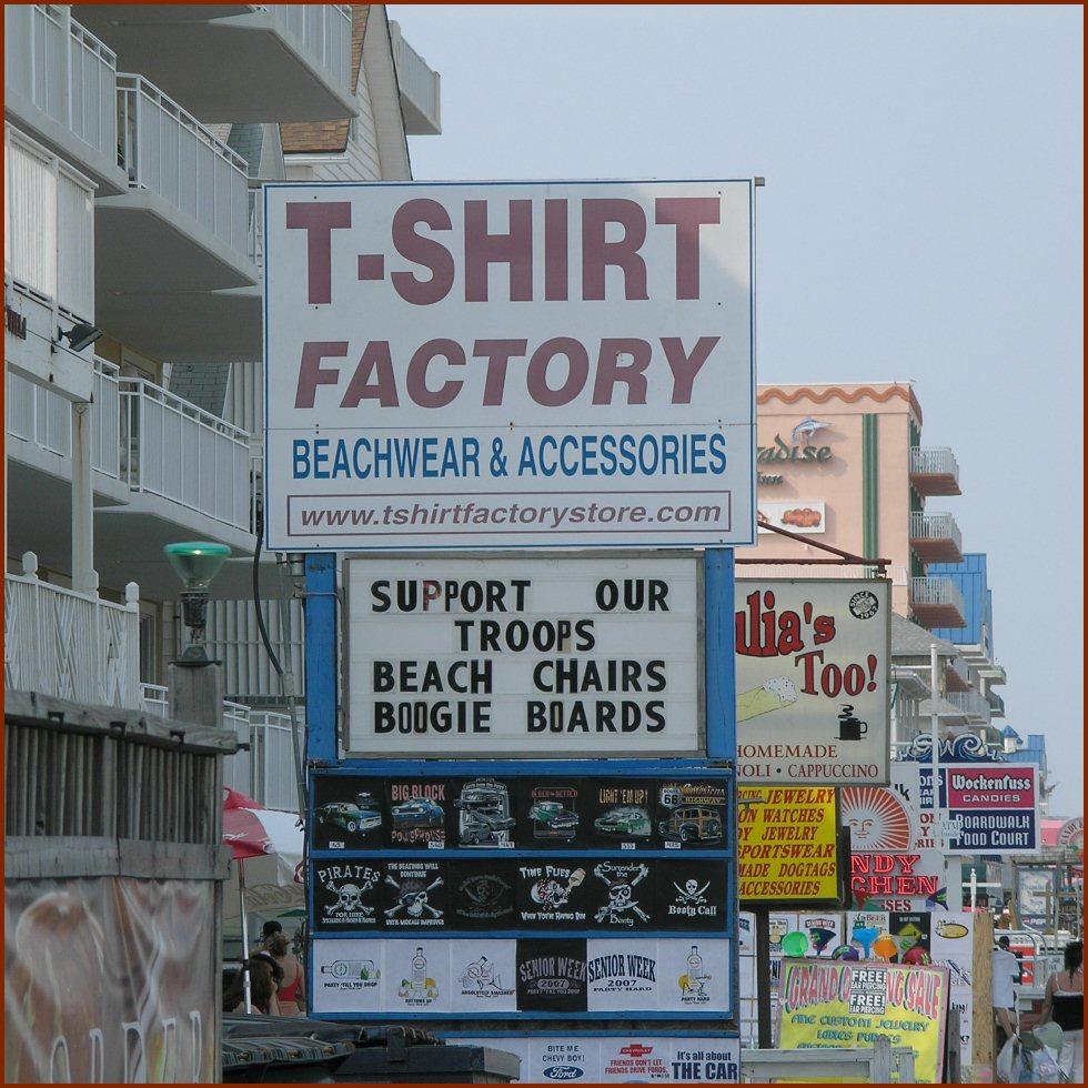 Ocean City T-Shirts — © 2008 America InContext