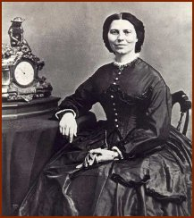 Clara Barton -- Public Domain Photo Courtesy of Wikipedia