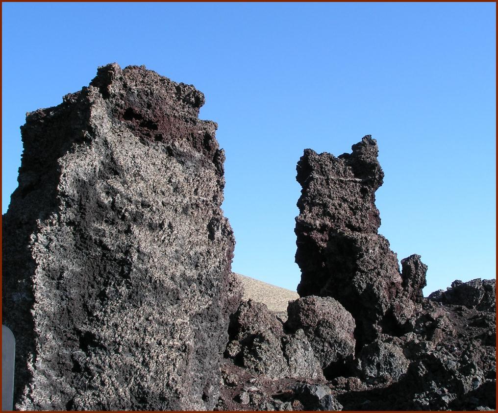 Lava Piles © 2008 America in Context