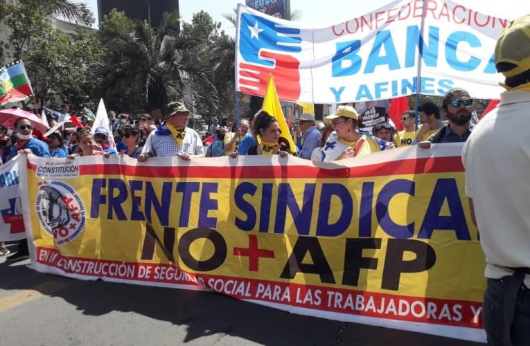 Chile: huelga general por una Asamblea Constituyente