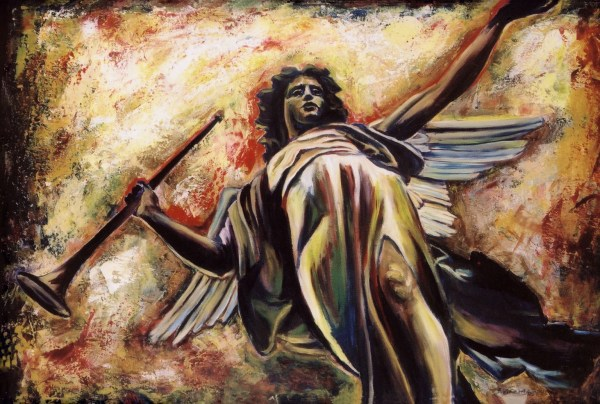 Angel Gabriel Painting