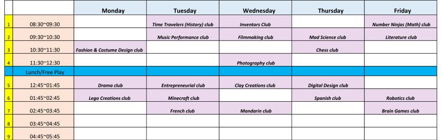 club_schedule