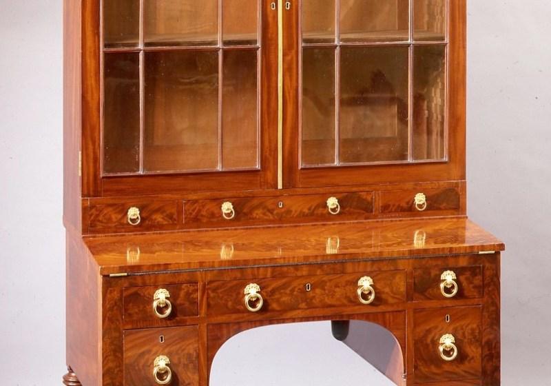 Mahogany Secretary Bookcase by Duncan Phyfe