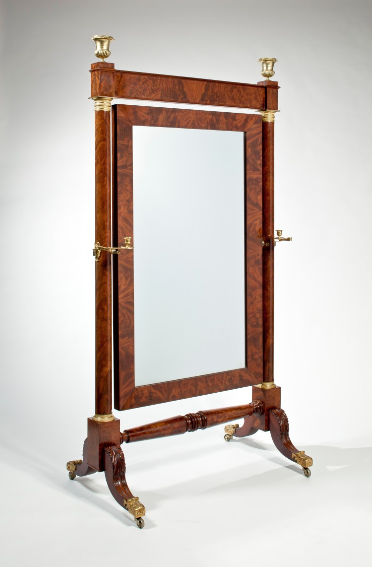 Cheval Dressing Mirror by Duncan Phyfe