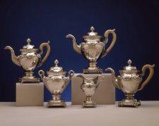 Silver Tea Service by Fletcher & Gardiner