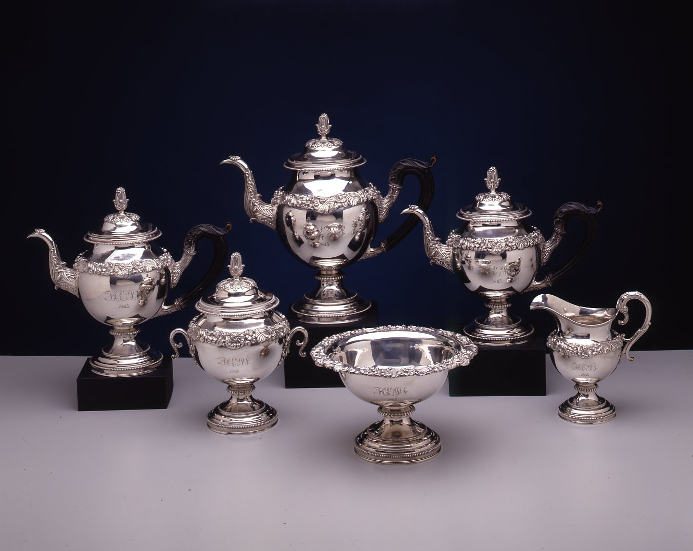 Silver Tea Service by Harvey Lewis