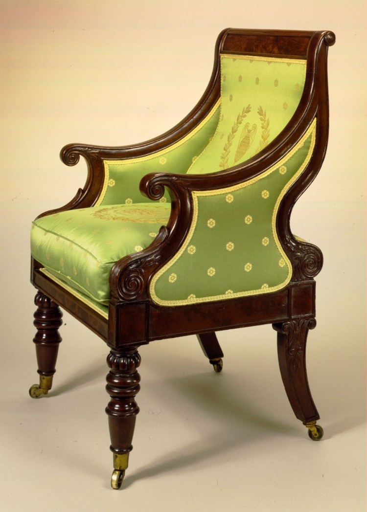 Sway-Back Easy Chair