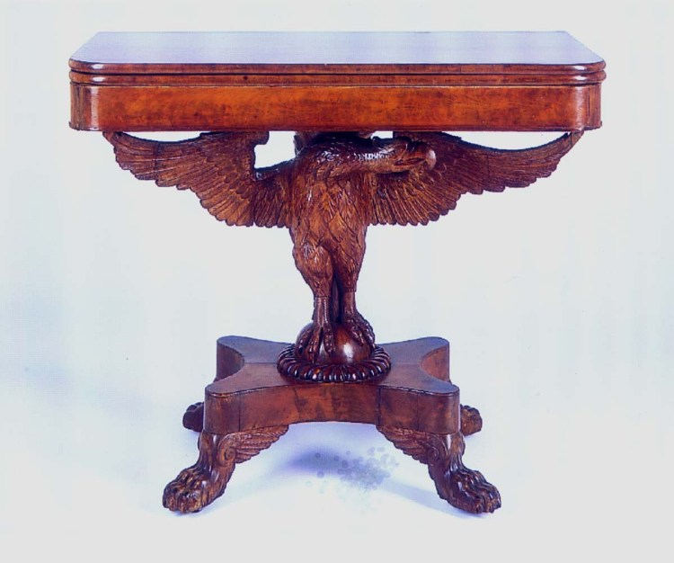 White House Eagle-Based Card Table